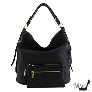 My Bag Lady Online Bags - Hobo Handbag & Pouch Set